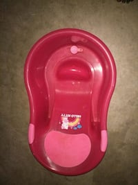 baby's pink plastic bather Calgary, T2A 7R9
