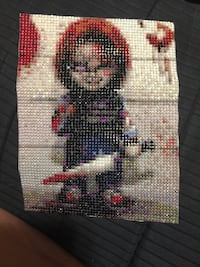 Chuckie Doll diamond painting Mississauga, L4T