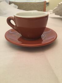 Set of 4 Italian cup/saucers Mc Lean, 22102