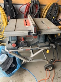 Moble table saw with stand