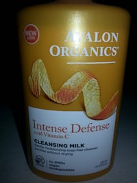Avalon Organics Intense Defense Cleansing Milk Vitamin C  Rockville