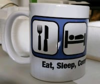 NEW Mug / Coffee Cup Gift (Eat, Sleep, Computer) Rockville, 20850