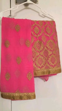 Heavy punjabi suit in pink color Toronto, M8W 3Z9