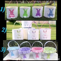 Personalized Easter Baskets Innisfil, L9S
