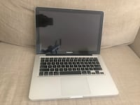 Macbook Pro  [PHONE NUMBER HIDDEN] GB with 8GB Memory Toronto, M3A