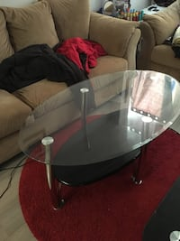 Glass coffee table  Toronto, M3L 1K5