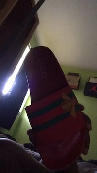 Green and red Gucci sandles  Dothan, 36301