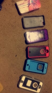 several iPhone cases