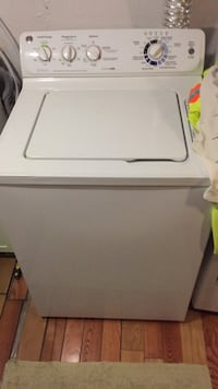 white top-load clothes washer Mississauga, L5J 1S3