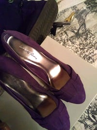 pair of purple peep-toe pumps Tucson, 85711