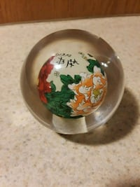 Glass decorative paper weight  Commerce City, 80022