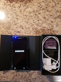 black Samsung Galaxy smartphone with box Brampton, L6S 3H7