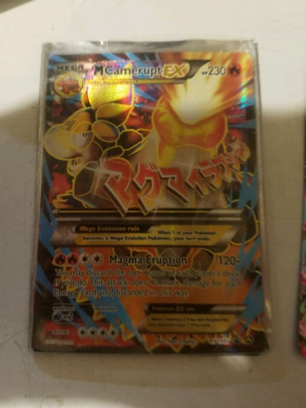 Mega EX Pokemon cards these are really expensive cards 64d49506-5a50-4a4d-90b7-b7c8fc3da1b0