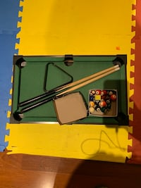 Mini pool table for kids