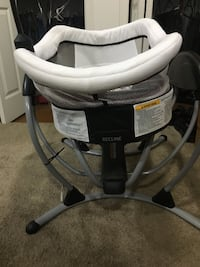 Baby's gray and black graco musical swing Lanham, 20706