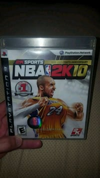 NBA 2K 10 PS3 game Shepherdsville, 40165