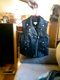 COACH LEATHER VEST