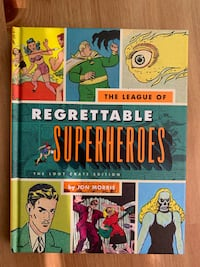 """""""The League of Regrettable Superheroes"""" Book"""