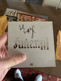 Signed Lil Wayne CD with Proof of purchase