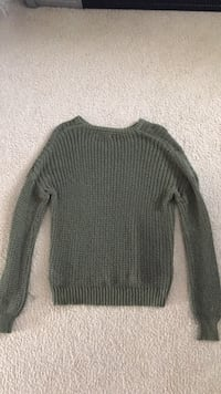 Green Sweater Sterling, 20165