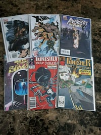 6 comic book lot Brampton, L7A 2R8