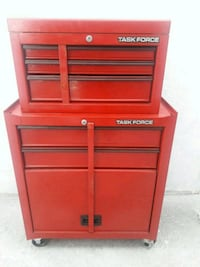 red and gray Craftsman tool chest Hialeah, 33012