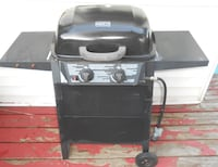 Black and gray gas grill Toronto, M6G
