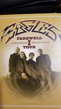 Eagles farewell tour, live from Melbourne DVD set Malden, 02148