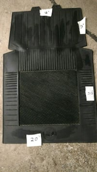 Rubber mat for car.