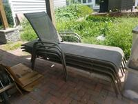 4 patio pool lounge chairs Fredericksburg, 22406