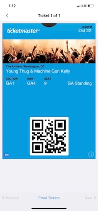 YOUNG THUG TIX @ THE ANTHEM WASH. DC Washington, 20036
