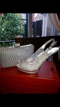 dressy shoes and purse 150.00 for both Montreal, H1C