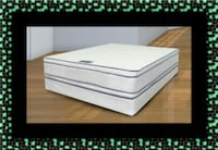 Queen mattress double pillow top with box spring Alexandria, 22306