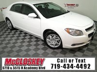 2009 Chevrolet Malibu Summit White Colorado Springs, 80918