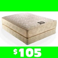 9 in. Thick orthopedic quilted mattress West Mifflin, 15122