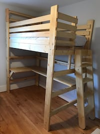 brown wooden bunk bed frame Morristown, 07960