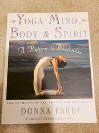 Yoga mind,  body and spirit. Yoga training book.  Brampton, L6V 4S1