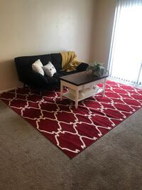 Beautiful red area rug Lancaster, 93534
