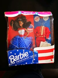 Barbie Doll For President Doll still in box rare  Yonkers