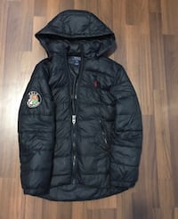 Black zip-up bubble jacket Mississauga, L5A 4E7