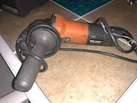 Ridgid grinder very powerful Paterson, 07513