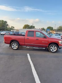 2006 RED DODGE RAM 1500 ST 4X4 TRUCK TOW AFFORDABLE