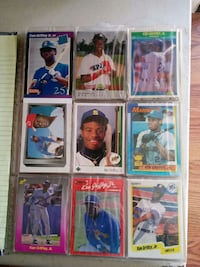 106 Griffey Jr cards. 12 pages March Air Reserve Base, 92518