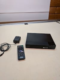 black Sony DVD player with remote Upton, 01568