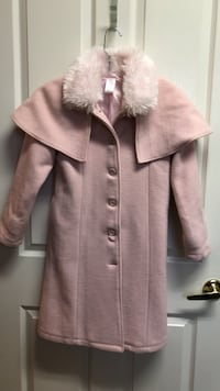 Gymboree pink princess coat