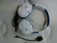 white and blue corded headphones Cleveland, 44102