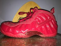 Nike Foamposite Pro Gym Red Size 11 New Britain borough, 18901