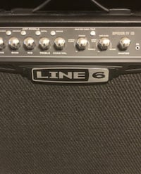 Line 6 Spider 15 watt guitar amp with built in effects. Like new! Briarcliff Manor, 10510