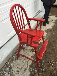 Antique kids high chair in good condition  Media, 19063