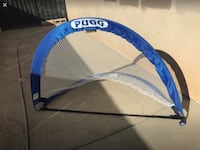 blue and white Graco pack n play Temescal, 92883